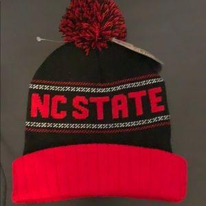 NC State kids beanie hat new